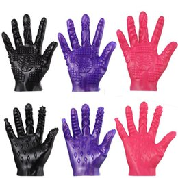 Wholesale Toy Vagina Male Masturbation - Sex Products Adult Games Sex Gloves For Male Female Masturbation Erotic Sex Toys For Couples Vagina