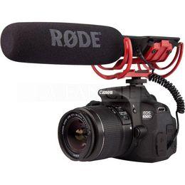 Argentina Rode VideoMic en la cámara montada Micrófono de micrófono con parabrisas para Canon T3i 5D2 7D 60D 70D 5D3 dslr Suministro