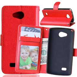 Wholesale Lg Nexus Flip Case - For Spirit 4G lite, Bello 2, Nexus 5X Wallet Flip Leather Case Phone Cover For For Joy Leon 4G lte C40, Glass H740