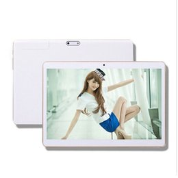 Wholesale Android Phablets - 9.6inch quad core MTK6582 tablet 1G 16G Android 4.1 Dual SIM card with Bluetooth GPS IPS phablets 3G tablets