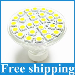 Wholesale E27 Led 29 - Lampada LED Lamp GU10 6W AC 220V 110V 5050 SMD Ampoule LED Spotlight Bombillas 29 LEDS Glass Body Spot light for home bulbs