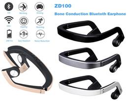 Открытая кость онлайн-Первый в мире костной проводимости Bluetooth наушники Zd100 Марка слуховой аппарат + Bluetooth телефон + музыка держать ухо открытым Bluetooth-гарнитура