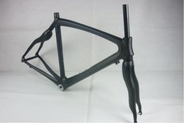 Wholesale Carbon Road Bikes 54 - Bicycle Frame 2016 Carbon Frame 48 50 52 54 CM Orange Painting 3K Weave With Bottom Frame Glossy Matt