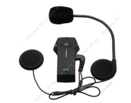 Wholesale Cheap Motorcycle Helmet Bluetooth Headset - Free Shipping!!Red FDC Motorcycle Motorbike Helmet Bluetooth Intercom Headset Support NFC Tech Helmet Headsets Cheap Helmet Headsets
