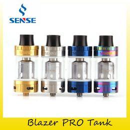 Wholesale Blazers Wholesale - Authentic Sense Blazer Pro Tank 6ml+1ml Juice Capacit Top Filling Atomizer For Original Sense Blazer Pro Coil 100% Genuine 2229016