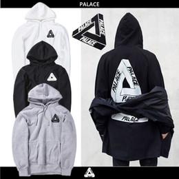 Wholesale Sweatshirts Blue Fleece - 2016 Spring Autunm fleece Palace Skateboards Hoodie Men Cotton Hip Hop Hoodies Sweatshirt anti social social club Off white mens hoodies