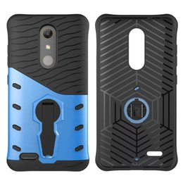 Wholesale Cases For Xperia Z - 360 Degree Rotation Holder TPU PC Hard Case For ZTE Zmax Pro Z981 Moto X PLAY G3 E3 Z Force Sony Xperia E5 Armor Shockproof Stand Skin Cover