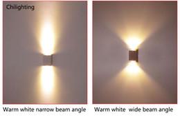 LED mur lampe carré moderne bi-direction en aluminium décoration scone éclairage couloir jusqu'à liguer AC90V-260V préfèrent livraison gratuite ? partir de fabricateur
