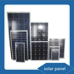 Wholesale Solar 18v - 20W 18V Solar Generator Polycrystalline Solar Panel for 12v Battery off Grid System Solar for Home System panneau solaire