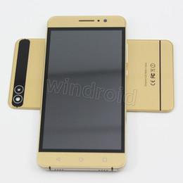 "Wholesale P9 Quad Core - 5"" Android 5.1 Smart phone MTK6580 Quad Core 4GB 960*540 Dual SIM cam 5MP 3G WCDMA Unlocked OTG Mobile gesture wake P9 Lite Free shpping 5pc"