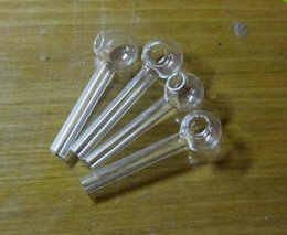 Wholesale Tube Support - Wholesale 6cm Smoking Accessories glass Hookah Straight tube glass burning pot,Support mixed batch