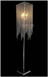 2019 iluminação de pé livre lâmpadas Frete Grátis Modern Popular Cristal Lâmpada de Assoalho, Chão Chão suporte iluminação Meerosee stand iluminação FL10008 iluminação de pé livre lâmpadas barato