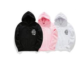 Wholesale Men S Long Sleeve Pullover - Kawaii Anti Social Club hoodie Anime Men Hoodie Hip Hop Streetwear Hoodie Jogging Men Pullover Sport men Hoodies