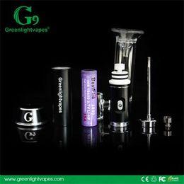 Wholesale Ego Electric - G9 Greenlightvapes portable 3.0 enail vape starter kits wholesale vaporizer pen ego ce4 wax electric nail dab digital