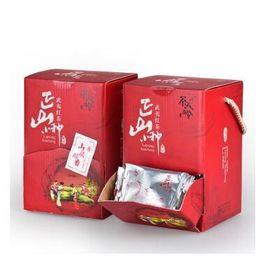 encomendar caixas de plástico Desconto Chinafujian charenlin Lapsang Souchong chá chá preto 250g * 2 caixas hongcha Wuyishan zhengshanxiaozhong