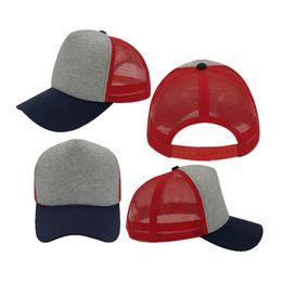 Wholesale Girls Snapbacks Hats - 2017 Direct Selling Ball Cap Red Light Grey Navy Cotton Mesh Female Hat Trucker Hats Snapbacks Women Girls Outdoor Summer Fall
