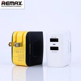 Wholesale Carregador Iphone Portatil - CNPOWER Original Remax 3.4A Dual USB Charger carregador portatil for quick charge adapter iphone 7 LJJ617