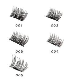 Wholesale Magnet Pair - Magnetic Eye Lashes 3D Mink Reusable False Magnet Eyelashes Extension 3d eyelash extensions magnetic eyelashes makeup 1 pair=1box=4pcs