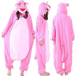 75da1f5eba53 SS Newest Cosplay Anime Pink Cheetah Easter Bear Onesie Halloween Costumes Adult  Women Men Pajamas Christmas Jumpsuit Romper Fleece