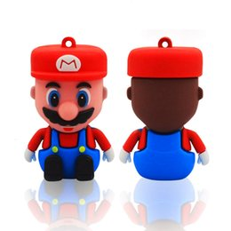 Wholesale Pendrive Real 8gb - Real Cartoon Super Mario INSPIRED Yoshi Gift Pendrive usb sticks 128gb 32gb 64gb flash drive 3D Figur Videospiel Pen Drive High Qualtiy