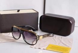 Wholesale Millionaire Sunglasses - Top quality Millionaire Sunglasses men Women Brand designer 2015 New Fashion Sun Glasses gafas de sol With Package