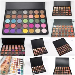 Wholesale Easy N - 35 color Eyeshadow Palette The JaclYn Hill Palette 35 Color Eye Shadow A B C D E F N P T W version