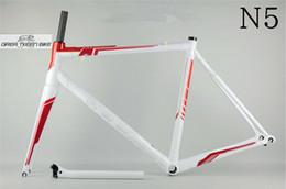 frame da bicicleta da estrada da fibra do carbono 48cm Desconto Fibra de carbono T800 bicicleta de estrada Quadro DCRF03 N5 BSA UD 3 K estabilidade de alta qualidade frete grátis