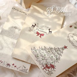 Wholesale Lovely Craft - Gift Packing Bag Retro Atmosphere Lovely Baking Christmas Candy Paper Bags Kraft Paper Material Hot Sale 0 9sp J