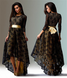 Wholesale Sleeved Floor Length Dress - New Spring autumn Woman's Long-sleeved Long Dress Large Size Sexy Lace Dress