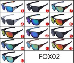Wholesale Fox Mix - 2015 fashion FOX-THE REMIT sunglasses Dazzle colour FOX conjoined lens big frame Sunglasses FOX02
