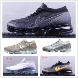 Wholesale rubber full sole - Air Vapor 2018 mens sports shoes Full Crusion Sole women outdoor running sneaker shoes breathable tennis footwear size 36-45