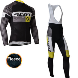 Wholesale Scott Clothing Cycling Jersey Winter - NEW team Scott KTM winter fleece Cycling clothing long sleeve cycling jersey 2016 ropa ciclismo hombre MTB bike jersey maillot ciclismo