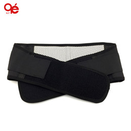 Wholesale Magnetic Heat Waist Belt Wholesaler - Wholesale-waist brace support spontaneous heating protection magnetic therapy belt