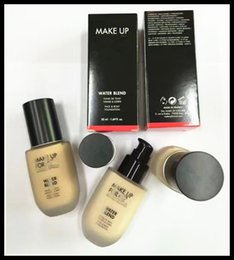 Wholesale Hot Body Lotion - New HOT Make up for water blend M U F E FACE AND BODY LIQUID FOUNDATION SHADE 6 COLOR OPTIONAL 1.69oz