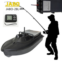 Wholesale Boat Jabo - Wholesale-Free Shipping!JABO-2BL-20A Profession High Speed 300M Fish Finder Night Led Sonar RC Bait Boat