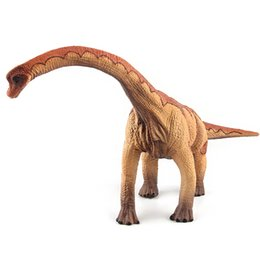 Wholesale hand puppets for kids - Jurassic Dinosaur King Super Simulation Heavy Claw Dragon Hand Puppets Dinosaur Pvc Brachiosaurus Models For kids Free Shipping
