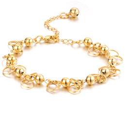 Wholesale Chain High Grade Steel - 18K gold jewelry imitation gold jewelry Men's Luxury 316L Stainless steel bracelet high-grade titanium steel bangle jewelry bracelets anti-a