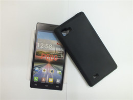 Wholesale Lg Optimus Plastic Cover - Anti Skid Soft TPU Case Silicon Gel Cover Soft Plastic Phone Case For LG Optimus 4X HD P880