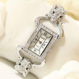 Wholesale women chain wrist watches - BS new Wristwatch high - end chain pearl full diamond Wrist female Watch FA1016 Fashion Women Dress Brand Watch
