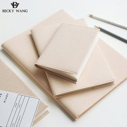 Wholesale Japanese Notebook Wholesale - Wholesale- BW Fresh Japanese Original Binding Imported MIDORI Notebook Concise Simple Elegant Exquisite Remember Notebook Hand Accounting