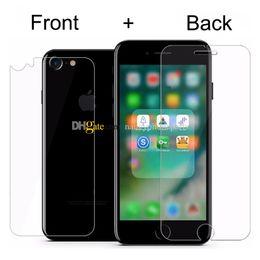 Vidro temperado sony xperia z2 on-line-0.3mm 9 H Premium Frente E Verso De Vidro Temperado para iPhone 7 6 S 6 Plus 5 SE 5 S Protetor de Tela Película Protetora