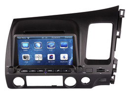 Wholesale Mobile Dvd Player Rca - Car DVD Player GPS Navigation for 2006-2011 Honda Civic Right Hand Drive with Radio Bluetooth USB SD RCA AUX Audio Video Stereo