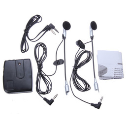 Wholesale headset system - Motorbike Motorcycle Helmet Headset 2 way Intercom Communication System