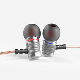 Argentina Nuevos Auriculares con cable KZ EDR2 Alta fidelidad DJ bajo fuerte Auriculares de cobre del metal Shocking Auriculares antiruidos Uso especial Earbud Suministro