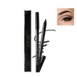 Wholesale gel eyeliner brown - Wholesale- Long Lasting Black   Brown Waterproof Eye Liner Pen Smooth Gel Eyeliner Pencil Cosmetics Smoky Eyes Beauty PL8
