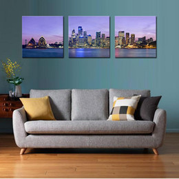Wholesale Oil Canvas House - The Sydney Opera House Is Lake Wall Art Painting The Picture Print On Canvas City Pictures For Home Decor Decoration Gift