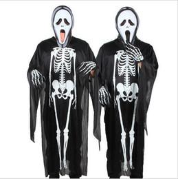 Manteau diable noir en Ligne-120cm hallowee squelette cape cape enfants dieu noir de la mort manteaux cosplay diable cape cape sorcière sorcière cape capes fantômes