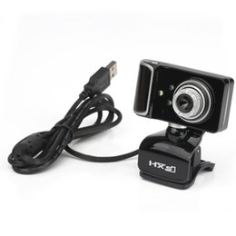 Wholesale Usb Web Mini Camera Hd - Mini HXSJ S20 180 Degree USB 0.3 MP HD Camera Webcam Web Camera with Microphone Support Windows 2000 XP 7 8  Vista 32bit