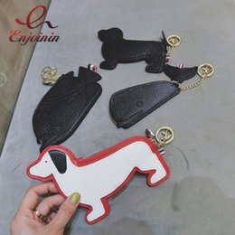 Wholesale Whale Accessories - Wholesale- Promotion personality new style puppy whale modeling pu leather bag accessories ladies coin coin purse bag wallet