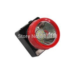 Wholesale Miners Led Headlamp - 12pcs lot Hot Sale Red Ring LED Headlamp Miner Light headlamp cree light platform light platform